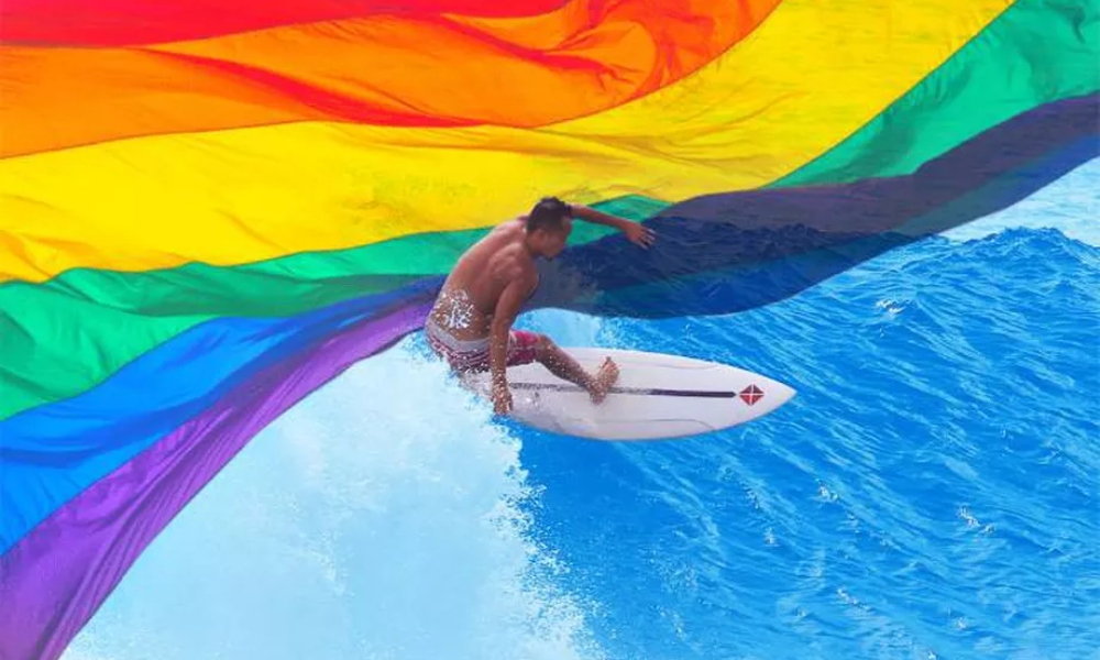 Openly Gay Surfer A Sam