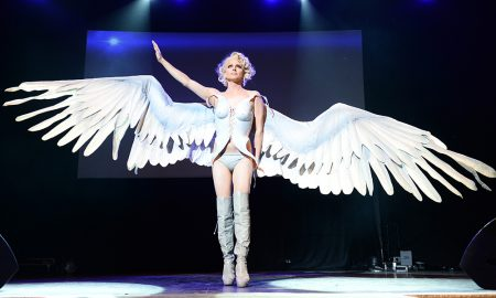 Courtney Act with Wings