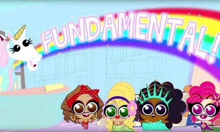 Drag Tots cartoon on Wow Presents
