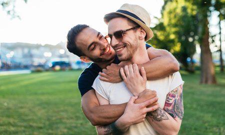 Gay couple traveling around Europe