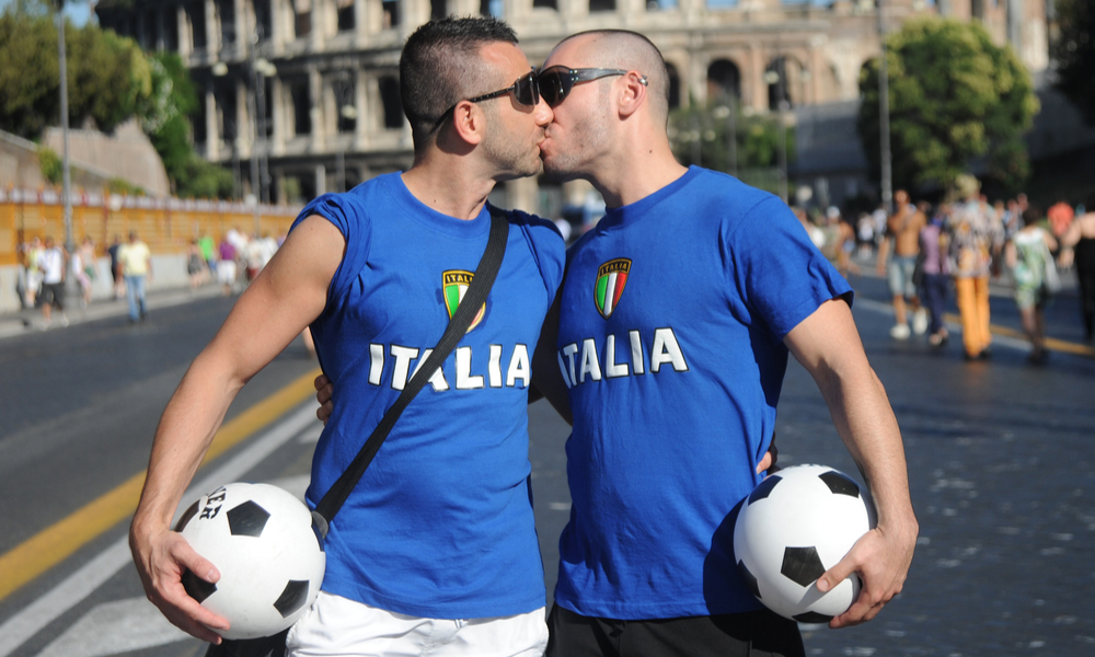Gay soccer fans in Italy