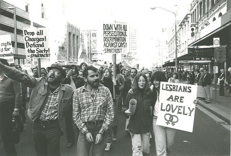 The 1978 Mardi Gras march