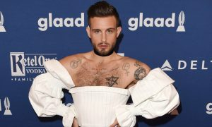 Nico Tortorella attends the 29th Annual GLAAD Media Awards