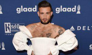 Nico Tortorella attends the 29th Annual GLAAD Media Awards