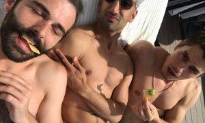 Jonathan Van Ness, Antoni Porowski and Tan France