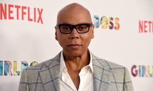 RuPaul Charles attends the premiere of Netflix's 'Girlboss'