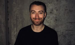 Sam Smith Smiling Backstage