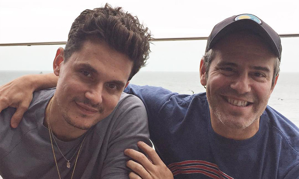 Andy Cohen Addresses Rumors He's Dating John Mayer
