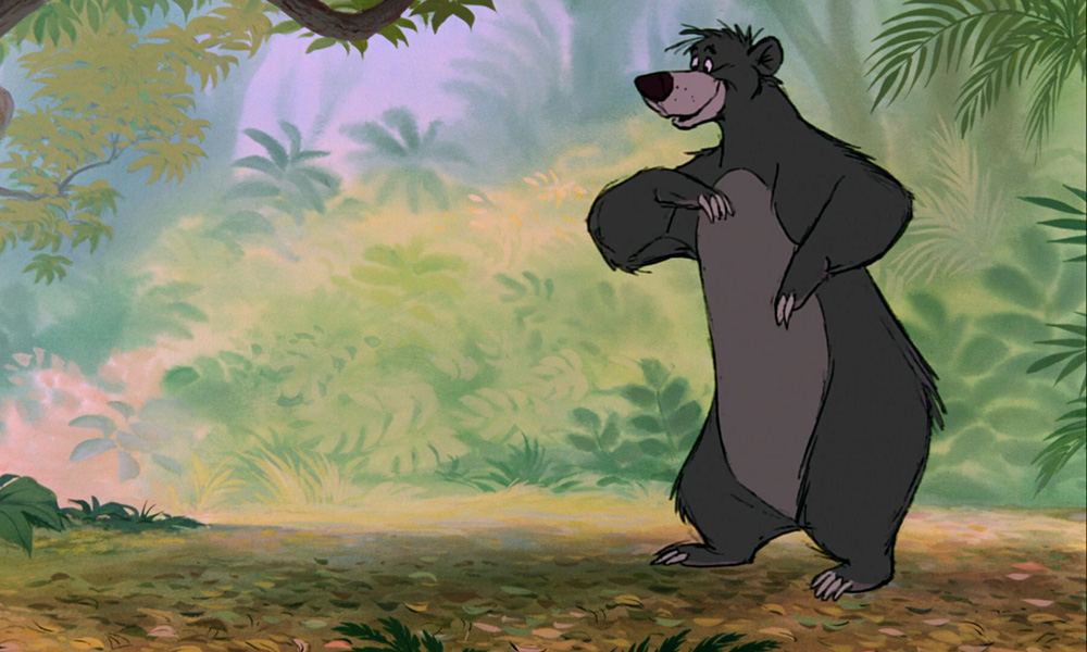Baloo from Disney's 'The Jungle Book'