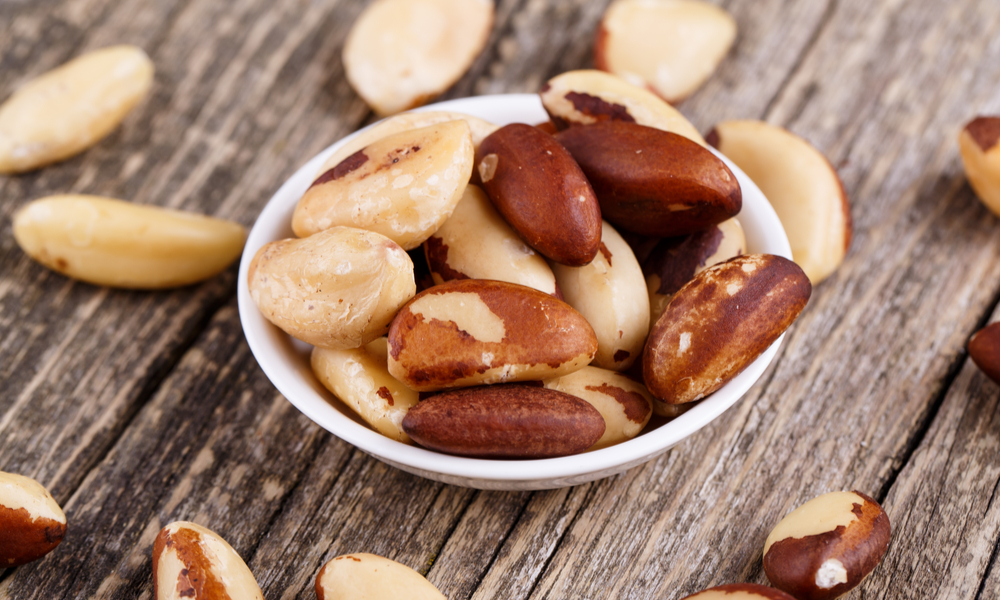 This is a photo of Brazil Nuts