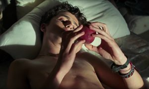 'Call Me By Your Name' Peach Scene