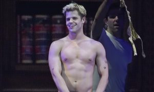 Charlie Carver in 'Broadway Bares: Game Night'