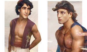 Aladdin and Hercules