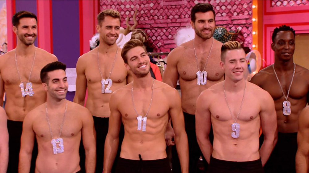 The Pit Crew from RuPaul's Drag Race