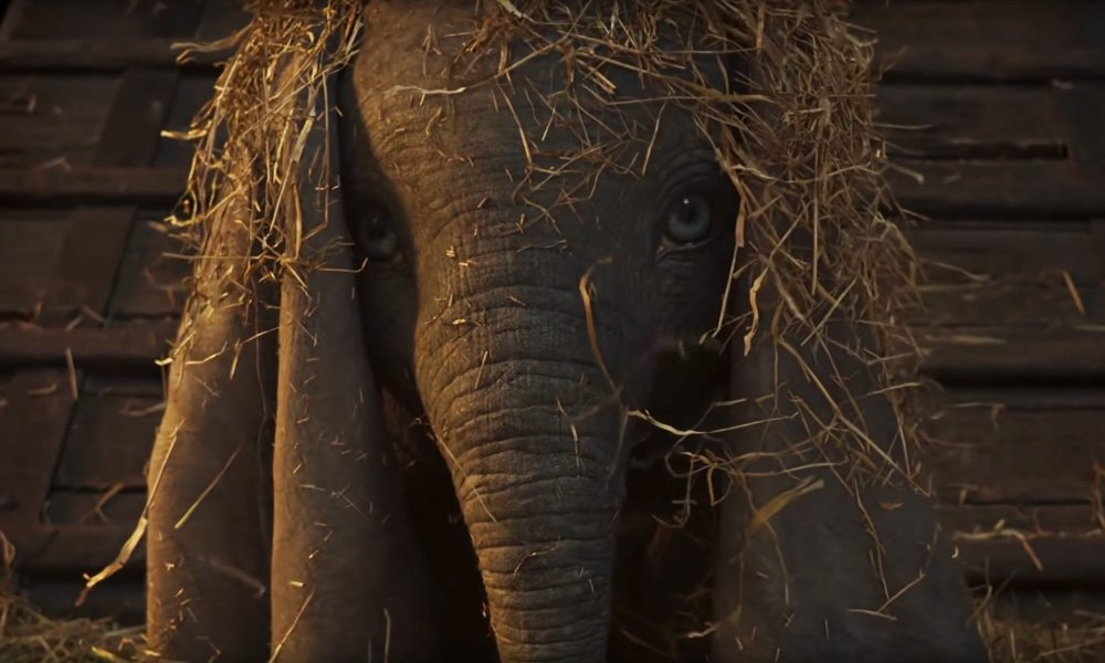 Teaser trailer for the live-action Dumbo remake