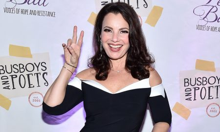 Comedian Fran Drescher attends the Busboys and Poets' Peace Ball: Voices of Hope and Resistance at National Museum Of African American History & Culture