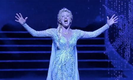 Watch Frozen's Caissie Levy Perform 'Let It Go' Live