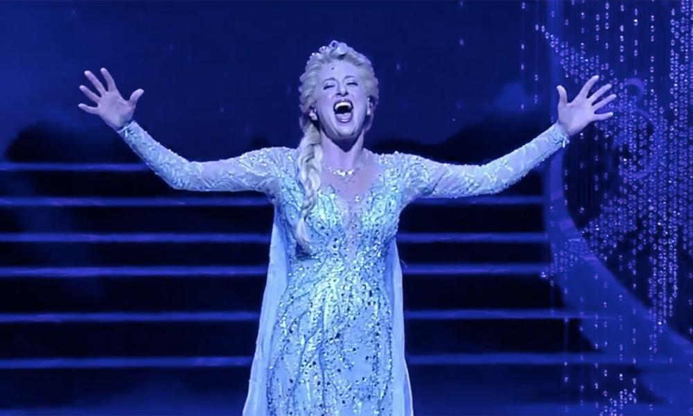 Watch Frozen's Caissie Levy Perform 'Let It Go' Live