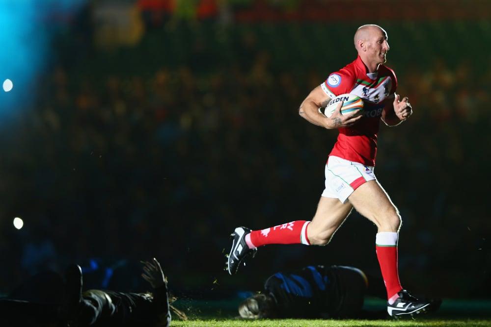 Gareth Thomas ex rugby player