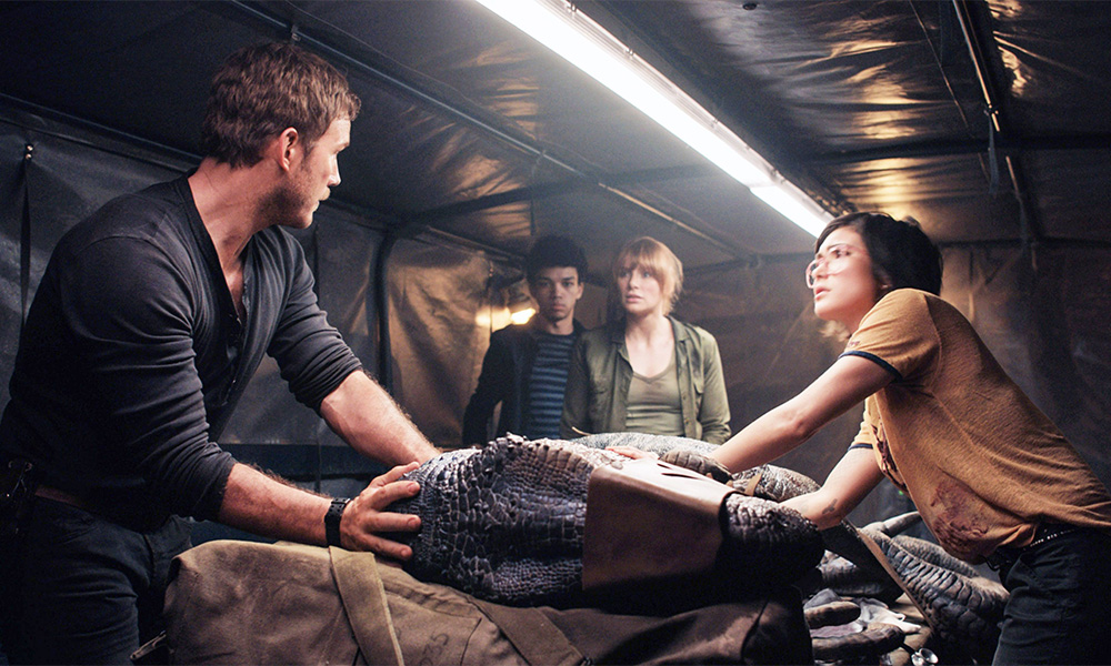 Producers Cut Coming out Scene From 'Jurassic World: Fallen Kingdom'