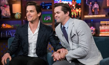 Matt Bomer and Andrew Rannells Kiss on 'WWHL'