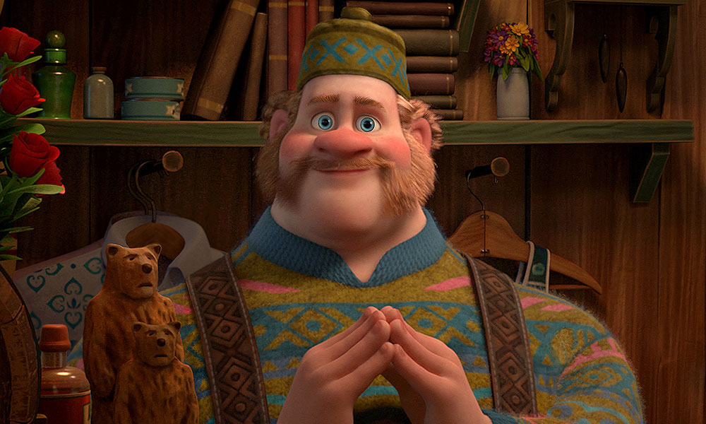 Oaken from Disney's 'Frozen'