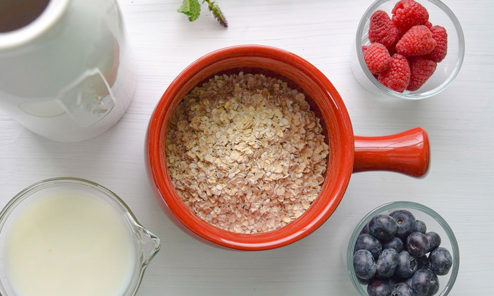 This is a photo of oats
