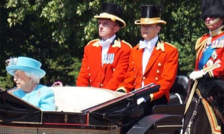 Queen Elizabeth's openly gay royal footman, Ollie Roberts.