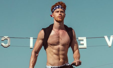 'Red Hot American Boys' 2019 Calendar Benefits Athlete Ally