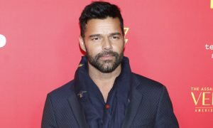 Ricky Martin at the 'The Assassination of Gianni Versace: American Crime Story' Premiere
