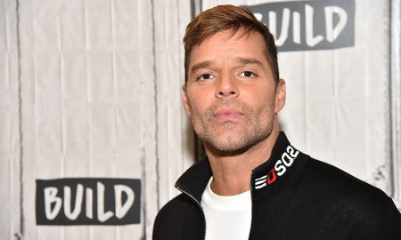 Ricky Martin attends Build at Build Studio