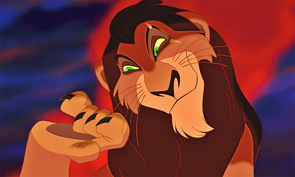 Scar from 'The Lion King'