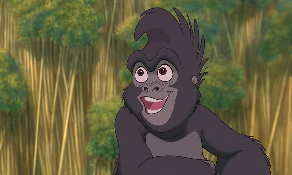 Terkina de 'Tarzan
