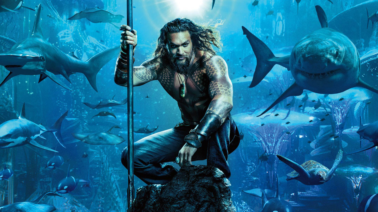 Watch the First 'Aquaman' Trailer Starring Hunky Jason Momoa