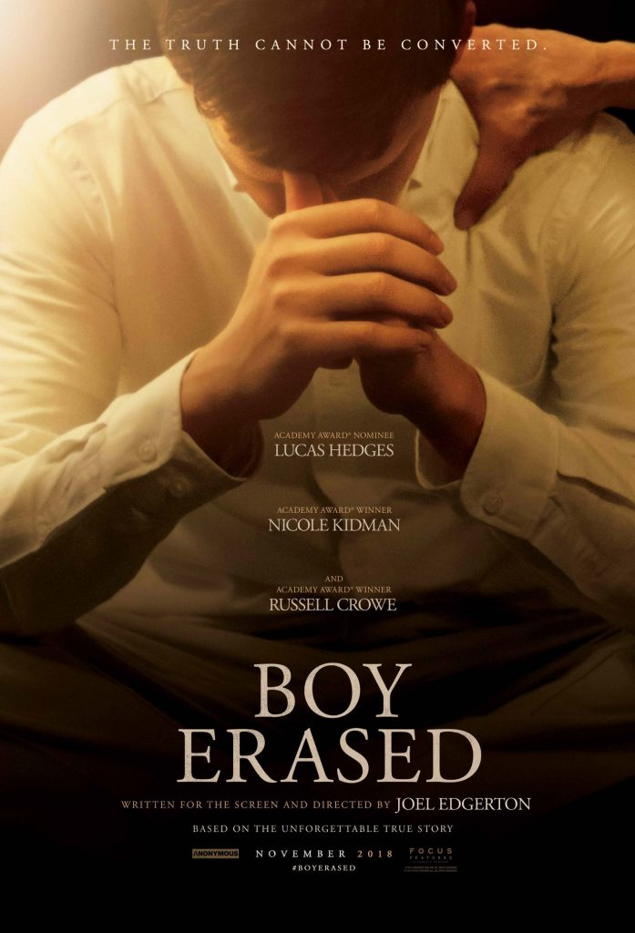Watch the First Trailer for the Upcoming Film 'Boy Erased'