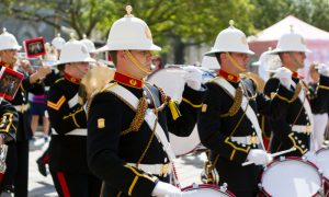 Britain's Royal Marines to March in London's Pride