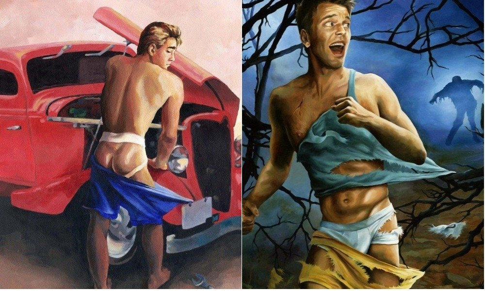 Paul Richmond's 'Cheesecake Boys' Stars Men in Classic Pin-Up Poses