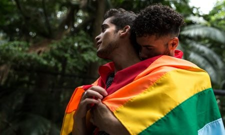 LGBT couple in Colombia