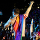 Dan Reynolds of Imagine Dragons performs at 2018 LOVELOUD Festival