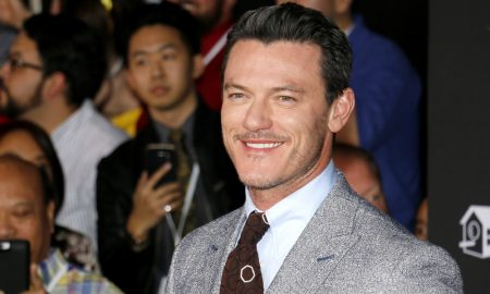 Luke Evans at the Los Angeles premiere of 'Beauty And The Beast'