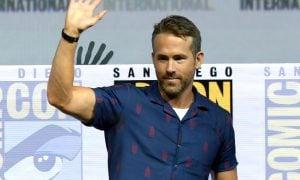 Ryan Reynolds speaks onstage at the 'Deadpool 2' panel