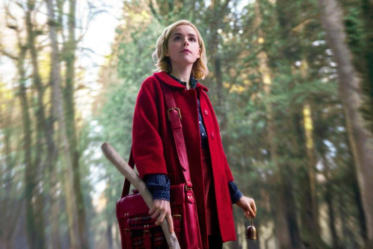 Netflix Teases First Look at Kiernan Shipka in 'Sabrina' Reboot