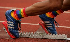Track and field event at the Gay Games