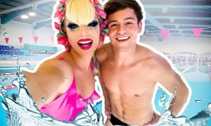 Watch Tom Daley Take Willam Diving in Full Drag