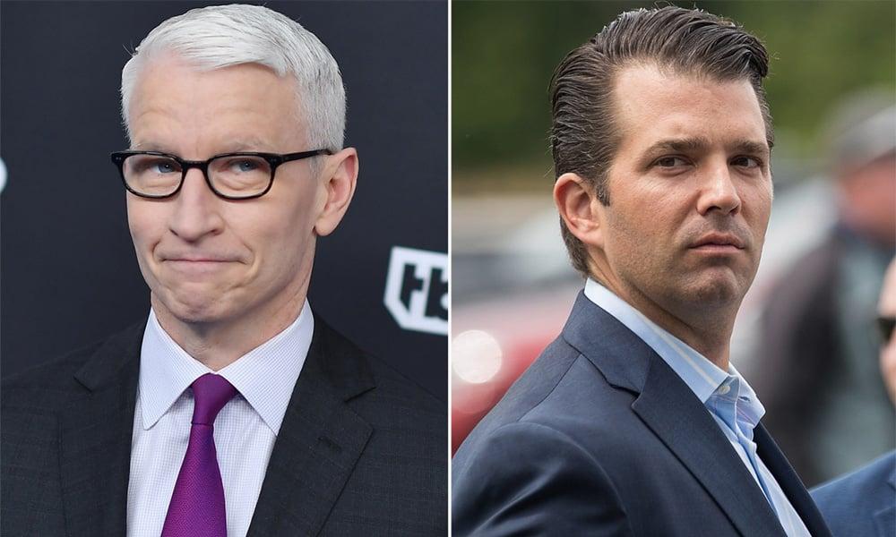 Anderson Cooper Debunks Trump Jr.'s Fake News Claim
