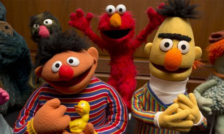 A photo of Bert and Ernie from 'Sesame Street'