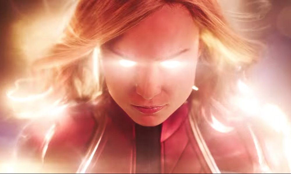 Marvel Debuts First Trailer for 'Captain Marvel'
