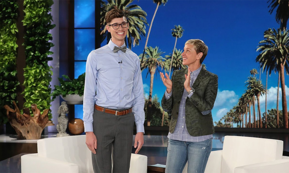 Ellen Gives Gay Valedictorian Rejected by Parents an Amazing Surprise