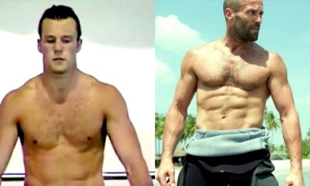 Jason Statham Shows Skin in Throwback Video