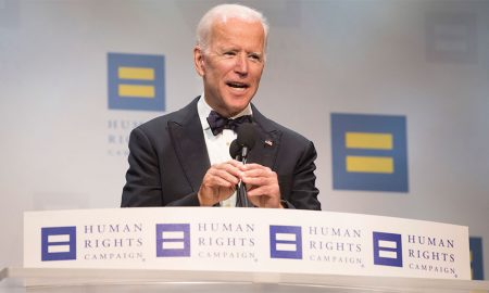 Joe Biden Calls Homophobia a 'Disease' During LGBT Dinner Speech